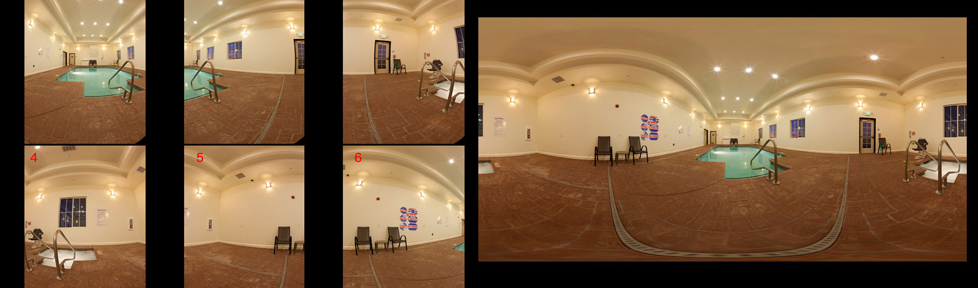 360 Degree Panorama Stitching Services